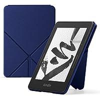 Origami Lederhülle für Kindle Voyage, Marineblau