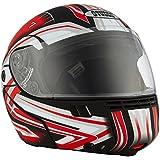 Studds Full Face Helmet Ninja 3G D1 (Matt Black N2, L)