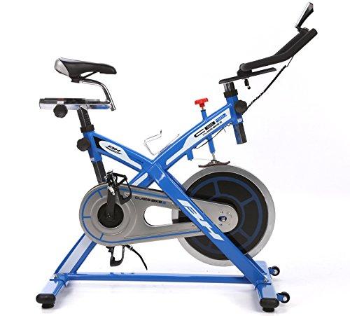 BH Fitness Class Bike II - Bicicleta fitness, color azul