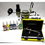 Airbrush-Kompressor AC 18C inklusive Harder & Steenbeck Evolution Two in One