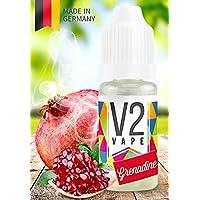 V2 Vape E-Liquid Granadina - Líquido de lujo Hecho en Alemania a partir de