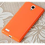 "Prevoa ® 丨 Silicona Funda Cover Caso Para Xiaomi red rice NOTE / Redmi NOTE 5.5 "" Smartphone - Naranja"