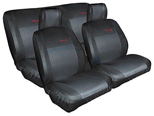 Sitzbezug Sitzbezüge Sport schwarz Schonbezug Sitzbezüge Schonbezüge Autositzbezug (Honda Sitzbezüge Auto Civic)