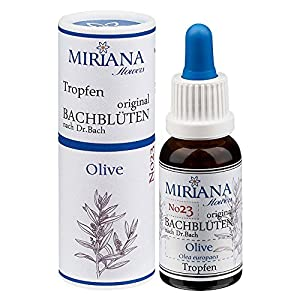 MirianaFlowers Olive 20ml Bachblüten Stockbottle