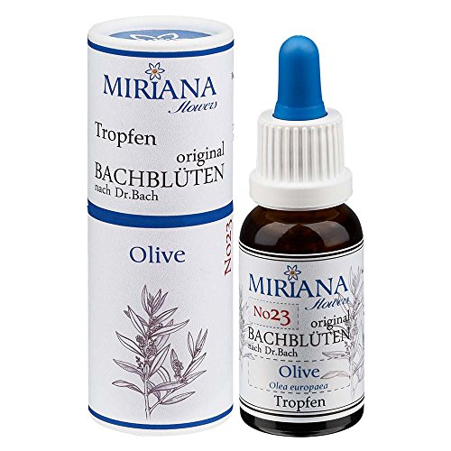MirianaFlowers Olive 20ml Bachblüten Stockbottle