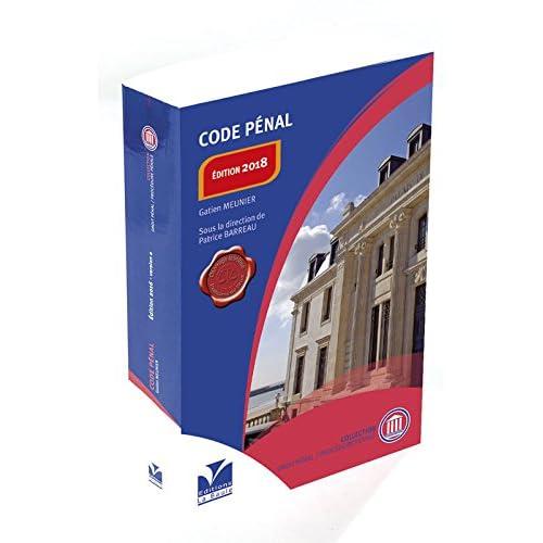 Code pénal Edition 2018