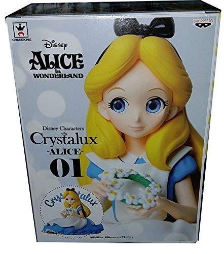 Figur Sammlung ALICE im Wunderland 10cm CRYSTALUX Original Banpresto Japan -