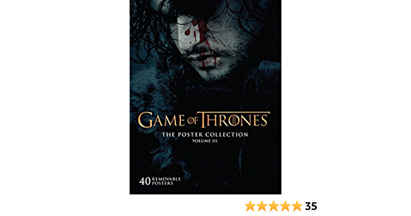 Game Of Thrones Poster Collection Vol 3 Insights Poster Collections Band 3 Insight Editions Amazon De Bücher