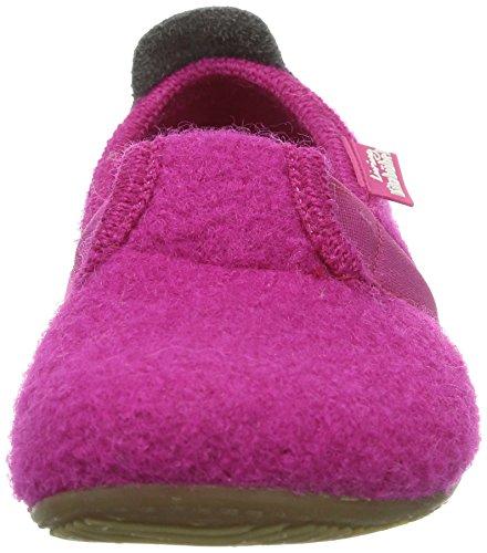Living Kitzbühel T-Modell Unisex-Kinder Flache Hausschuhe Pink (fuchsia 368)