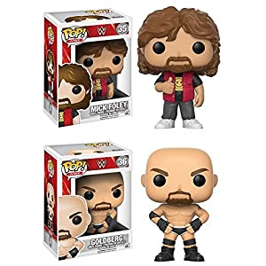Funko POP WWE Mick Foley Goldberg Stylized Movie Vinyl Figure Set NEW