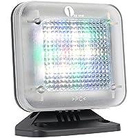 1byone Simulateur TV de Télévision TV Panneau LED Sécurité Anti-Effraction et Antivol