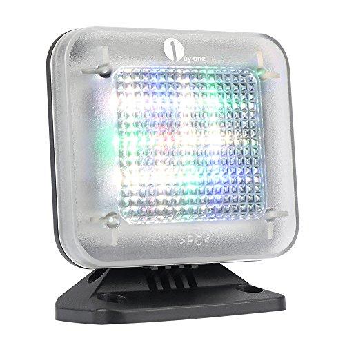 fernseh simulator 1byone TV Simulator LED televisie- Dummy, Home Security/inbraakbeveiliging met lichtsensor en timer functie