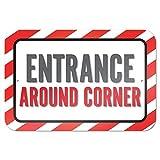 bienternary Eingang Um die Ecke 9x