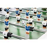 """Spielfeld mit Ball von Maxstore Tischfussball """"Leeds"""", Weiß"""
