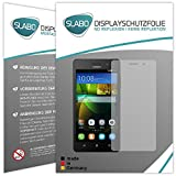 4 x Slabo Displayschutzfolie für Huawei G Play Mini Displayfolie Schutzfolie Folie Zubehör