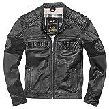 Black-Cafe London New York Motorrad Lederjacke 58