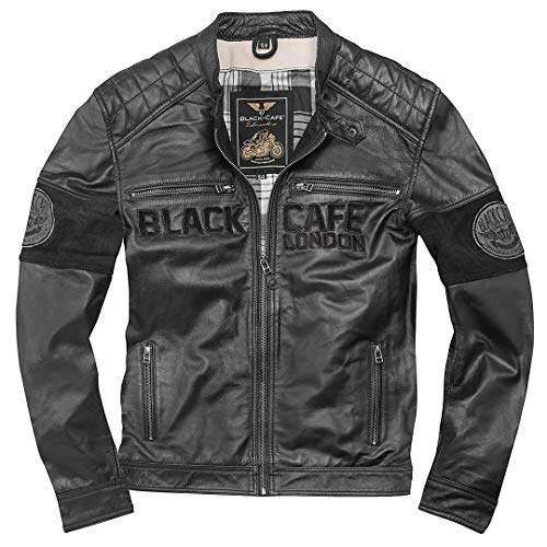 Black-Cafe London New York - Giacca in pelle 50
