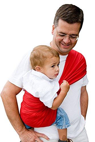 Babytuch - das Tragetuch ohne Knoten (8, Kirschrot)
