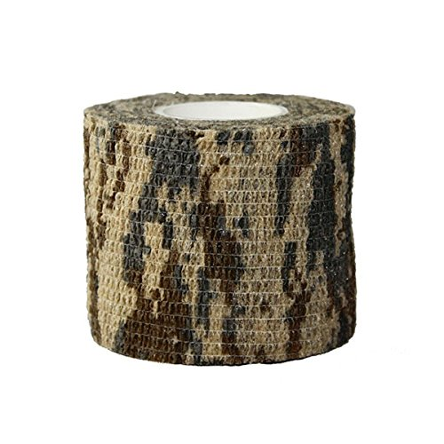 WINOMO 3 Rollen schützende Tarnung Wrap Camo Stoff wickeln (Desert Camo) (Stoff Camo Desert)