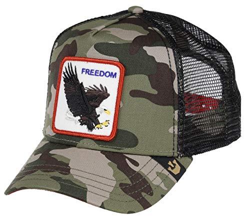 Goorin Bros. Trucker Cap Freedom Camouflage, Size:ONE Size Patch Trucker Hut
