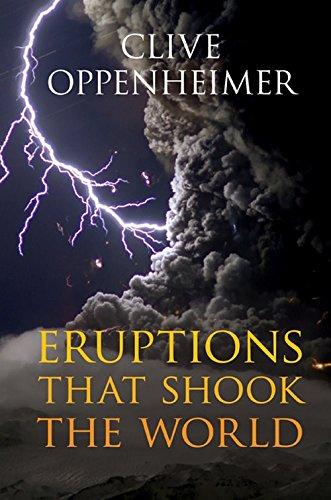 Eruptions that Shook the World Hardback por Oppenheimer