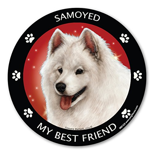 Price comparison product image Magnetic Pedigrees Samoyed My Best Friend Magnet