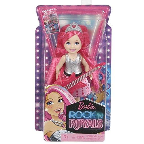 Barbie ckb69-Chitarra Rock star camp Chelsea-Bambola con una principessa, rosa