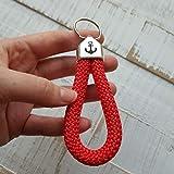 Schlüsselband   Schlüsselanhänger aus Segelseil mit Schlaufe, handmade in Deutschland