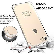 "Para iPhone 6/6s Funda, HZSSEC Slim Anti Slip funda Back Protector Cover color transparente TPU resistente a arañazos Protector Funda para Apple iPhone 6/6s 4.7"""