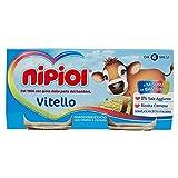Nipiol Vitello, Omogeneizzato - 2 Vaschette