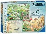 Ravensburger Angenehmes Bergwiesen, 2x Kunstnägel Puzzle