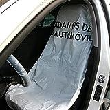 Fundas para asiento de coche LDPE blancas ( rollo de 250 unidades )