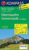 Oberstaufen - Immenstadt im Allgäu: Wanderkarte mit Aktiv Guide, Radwegen, Skitouren und Loipen. GPS-genau.1:25000 (KOMPASS-Wanderkarten, Band 2) -