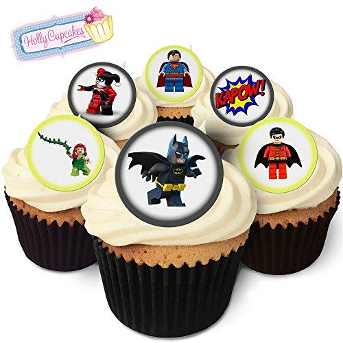 24 Wunderschöne essbare Kuchendekorationen: Lego Batman