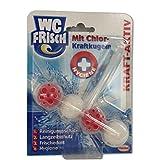 WC Frisch Kraft-Aktiv Duftspüler mit Chlor-Kraftkugeln, 50 g