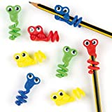 Baker Ross Embouts décoratifs pour crayons petits monstres (Lot de 8) - Accessoires fantaisie pour crayon