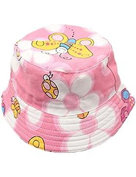 Fletion Motivo floreale Cappello da pescatore baby Cappello da sole per bambini Ragazzi neonati Cappello di pescatore...