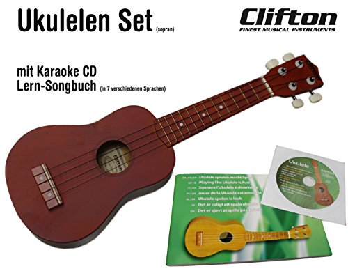 Clifton Ukulelen-Sets