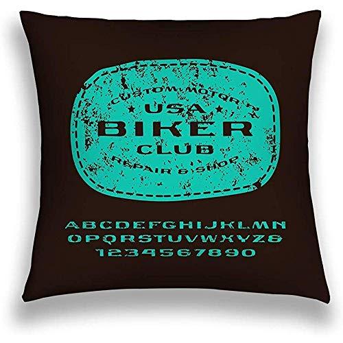 Funda de cojín Decorativa de algodón Vintage para el hogar Funda de cojín...