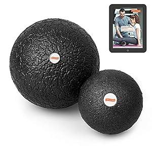 Joyletics Faszienball »Single Ball Set« + eBook Faszientraining | 2 Bälle mit Verschiedene Größen Ideal für die Selbstmassage des Bindegewebes | Ballset für Eine tiefgreifende Massage