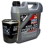 LIQUI MOLY Top Tec 4300 5W-30 3741 + MANN FILTER Ölfilter W 610/6