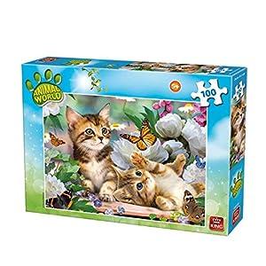 King Animal World 2 - Rompecabezas (Puzzle Rompecabezas, Fauna, Niños, Animal World, Niño/niña, 5 año(s))