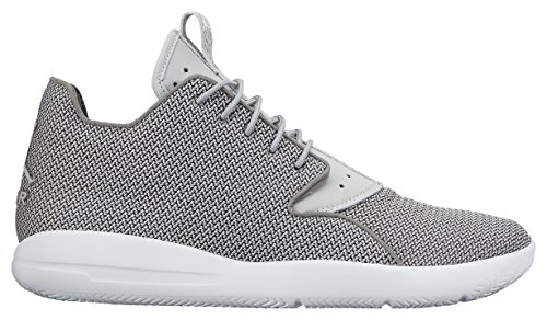 Nike Jordan Eclipse, Baskets Basses Homme, Noir/Blanc, Talla Gris / Blanco  (Dust/Grey Mist-White)