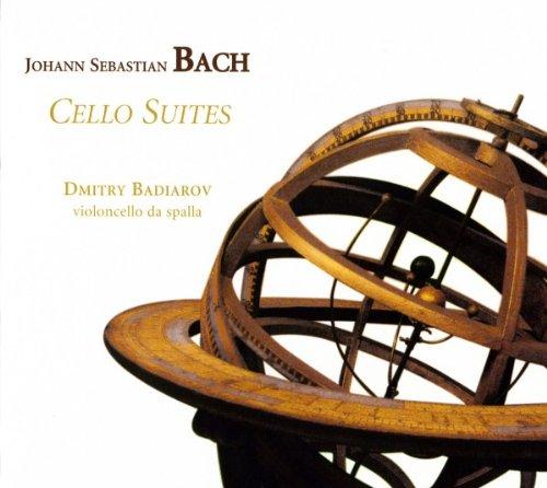 Bach: Cellosuiten BWV 1007-1012 (gespielt auf Violoncello da spalla)