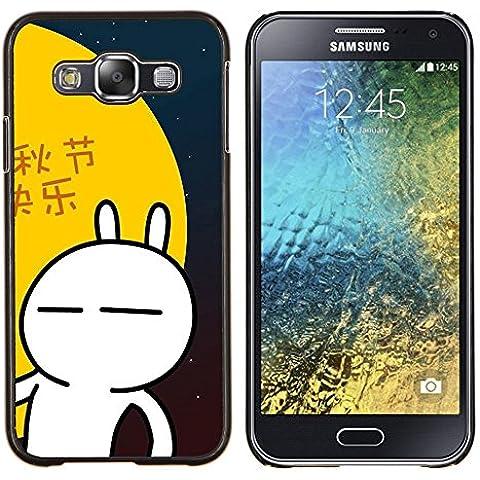 BearCase / Shell posteriore duro della custodia in plastica di copertura di protezione /// Samsung Galaxy E5 E500 /// Natura Lago Mist