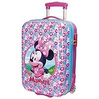 MINNIE PINK - Trolley da Viaggio in ABS Rigido 50 cm 2 Ruote Dimensioni: 50x31x20 cm Capacità: 26 litri (2,4 Kg) Disney