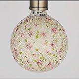 E27 110 V 220 V Kristall Glühbirne Retro Nostalgische Kreative Dekoration Kristall Licht Romantische Kunst Bunte Feuerwerke Mosaik LED Birne 125 * 168mm