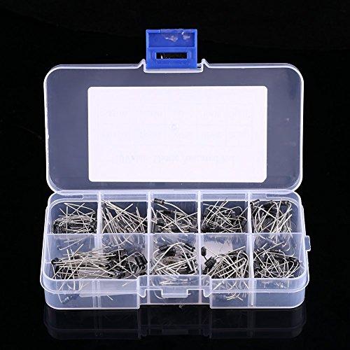 200 stücke 10 Werte Spannungsregler Diode Sortiment Elektronische Kit 1N4001~1N4007 1N5817~1N5819 mit Klarsichtbox