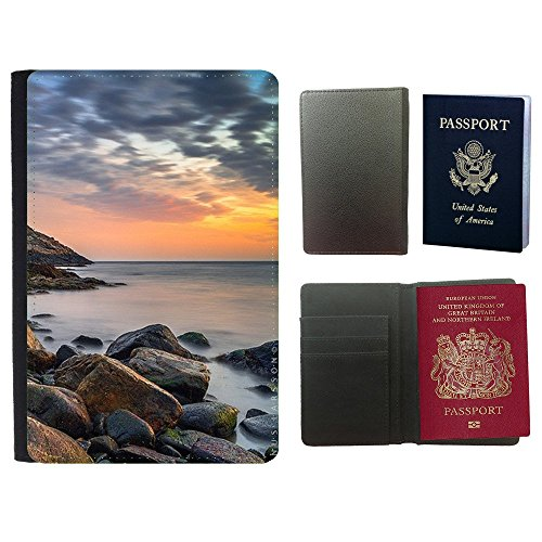 super-galaxy-pu-leather-travel-passport-wallet-case-cover-f00002814-bowl-tomato-food-ceramic-duotone