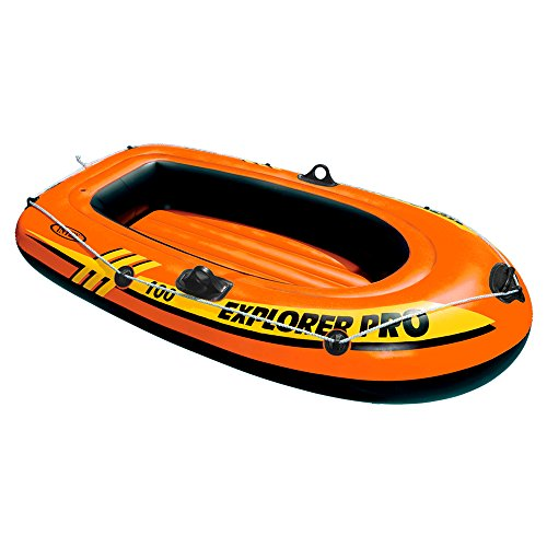 Intex Schlauchboot Explorer Pro 100 Phthalates Free, 160 X 94 X 29 cm, 58355NP